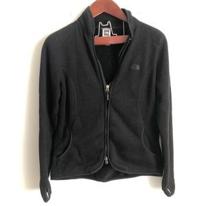 The North Face Black Fleece Jacket Sweatshirt L
